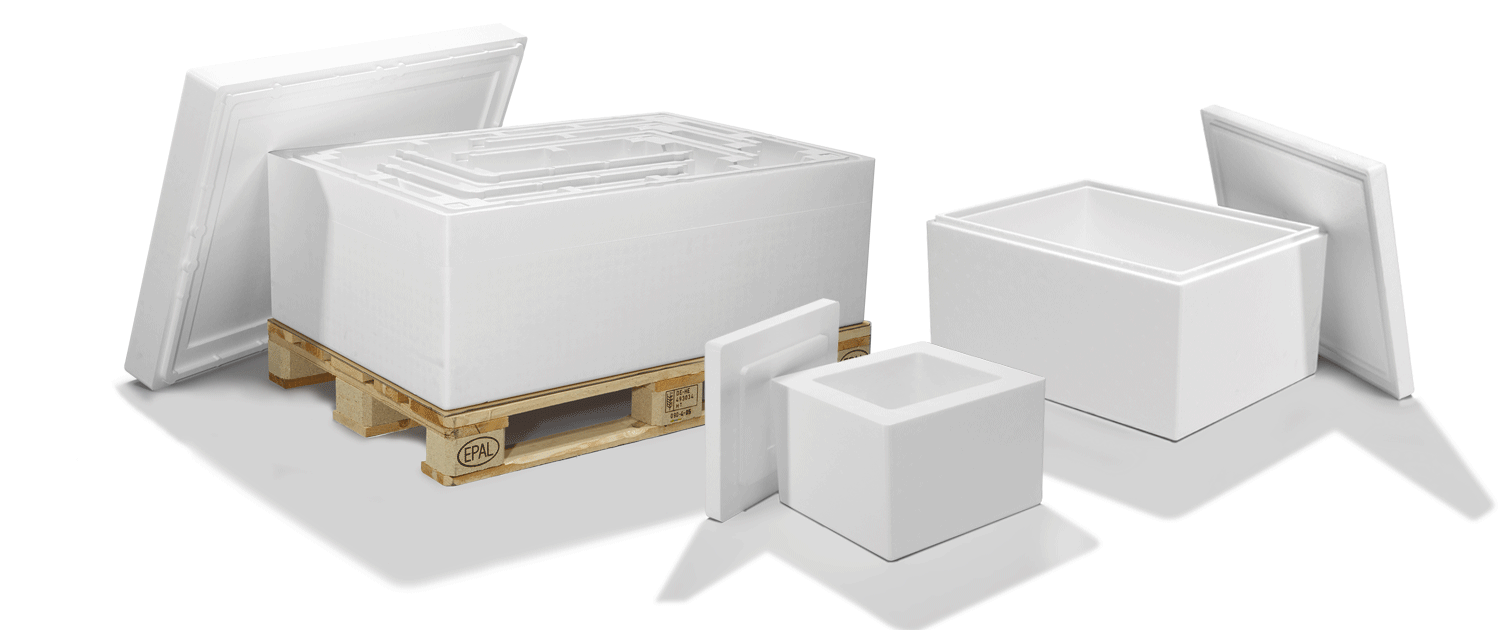 EPS Thermoboxes in different sizes